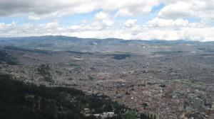 Bogota from on high