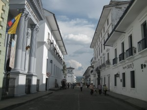 Streets of Popayan