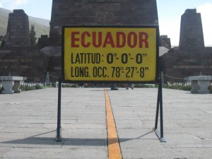 the Ecuador, or is it?